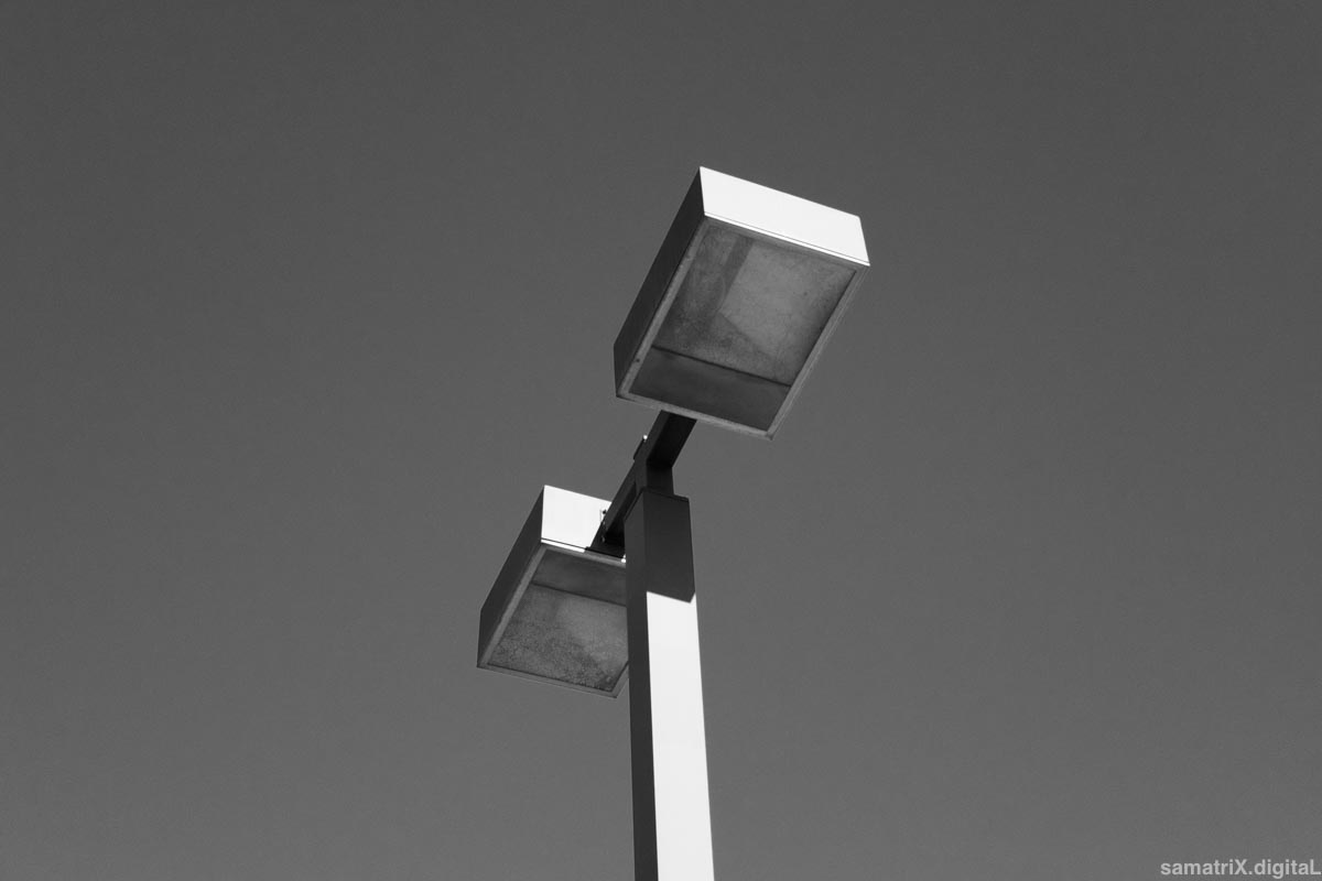 photo of light stanchion